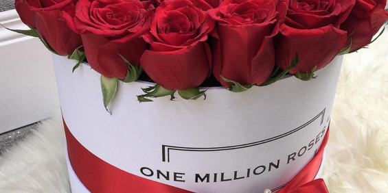 ミラノで大人気!One Million Rosesで最高のサプライズを